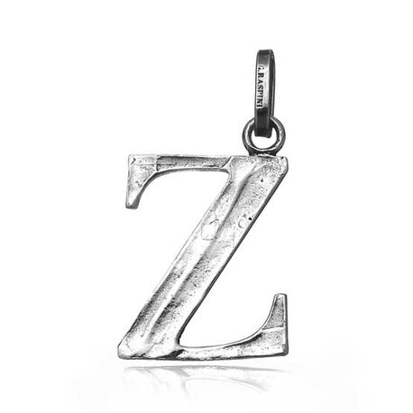 Zilveren letter Z hanger Raspini
