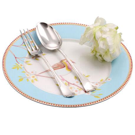 zilver dessertcouvert dubbelzijdig model 18 cm