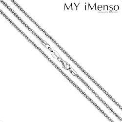 zilveren ketting diabomba 92 cm 27-0035 MY iMenso