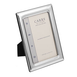 Zilveren fotolijst 15 x 10 cm  Carrs fro64/c