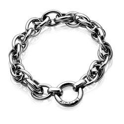 Zilver armband fantasieschakel Zia837 Zinzi
