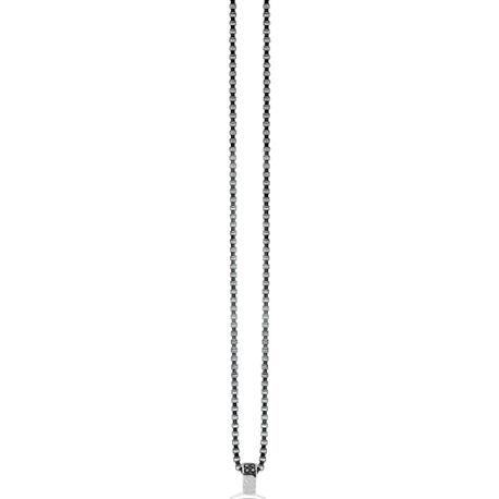 Zinzi zilveren ketting ZI45ven