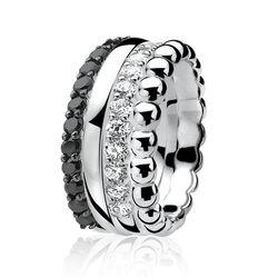 smalle gladde ring zinzi ZIR828