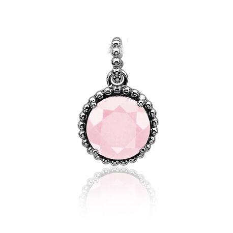 Zinzi Hanger Roze Zirkonia Zih842r