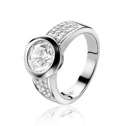 Zinzi ring zirkonia Zir213w