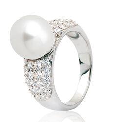 Zinzi ring grote parel zir116