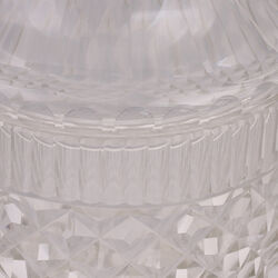 stel kristallen gembercoupes