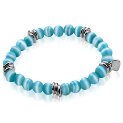 Zinzi Cateye Turquoise Armband Zia848t