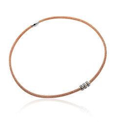 Zinzi Collier 3 Beads Zirkonia Zic839r
