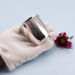 zilver kinderbeker cup