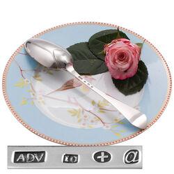 Zilveren Dinerlepel A. De Vries