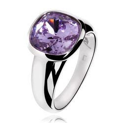 Zinzi ring met paarse steen ZIR114p