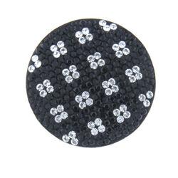 Zwart witte Swarovski munt MY iMenso 33mm 22-0738