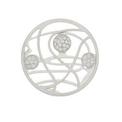 Zilver insignia zirconia 33-0247 MY iMenso