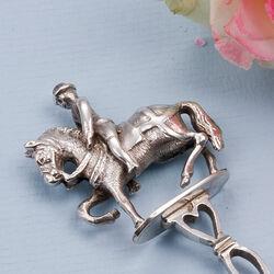 zilveren pijpenwroeter paard