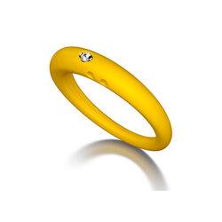Duepunti Ring Yellow Dp002