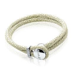 Zinzi Leren Armband Groen Zia846o