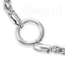 Zilver sluitring 16 mm MY iMenso 27-0197