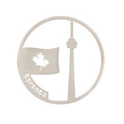Zilver cover Toronto Canada 33 mm MY iMenso