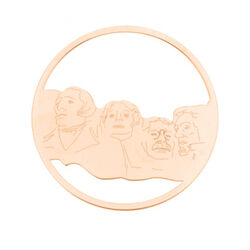MY iMenso Zilveren Rose Vergulde Cover Mount Rushmore 330792