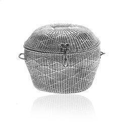 Antiek Zilveren Wasmandje