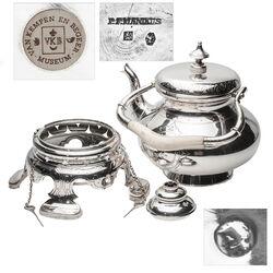 Zilveren bouilloir van Kempen 19e eeuws