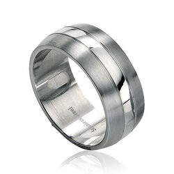 Fredbennet Stalen Ring R2510