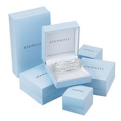 Elements zilveren Rinkelarmband 5 Hangers