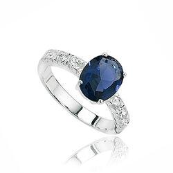 Zilveren Ring Zirkonia En Kristal