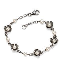 Zilveren Armband Parels