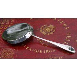 zilveren spiegeleischep van Begeer model dubbelpuntfilet