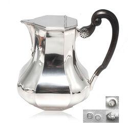 Zilveren warme melkkan Versailles Bolpas