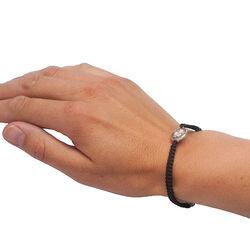 Diluca Armbandje Camee Zilver Zwart