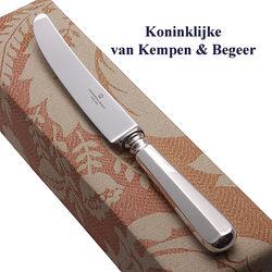 Dessertmes Haags lofje zilveren heft Van Kempen & Begeer