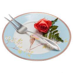 Zilveren Vleesvork Dubbelpuntfilet Gebogen