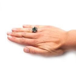 Zilver ring Waterlelie van Raspini
