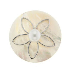 Spherique Bloem Schelp 33mm. 330822 MY iMenso