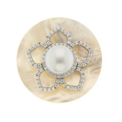 Spherique Schelp Bloem 330825 33mm MY iMenso zoetwaterparel