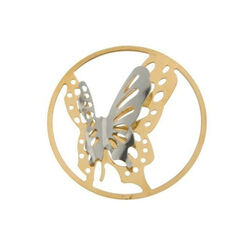 MY iMenso cover met vlinders bicolor 33-0834