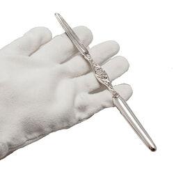 Zilveren mergboor Biedermeier