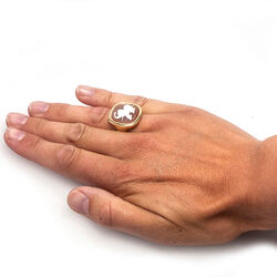Diluca Ring Camee Olifant
