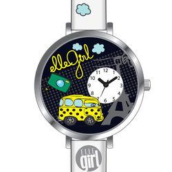Elle Girl meisjes horloge wit EL0418
