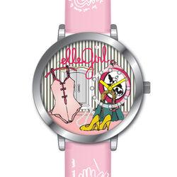 Elle Girl roze meisjes horloge EL0405