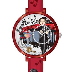 Elle Girl rood horloge voor meisjes EL0424