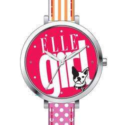 Fel gekleurd meisjes horloge van Elle Girl