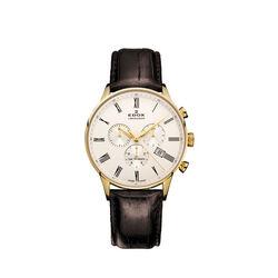 Edox Les Vauberts chronograph bigdate