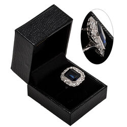 platina ring met diamantjes en zirkoon