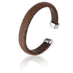 Zinzi Super Sale armband Roggenleer Bruin Zia942br