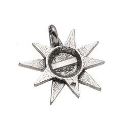 Zilveren hanger Sissi ster GL Timeless