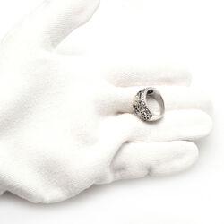 Gl Ring Parels Swarovski Kristal